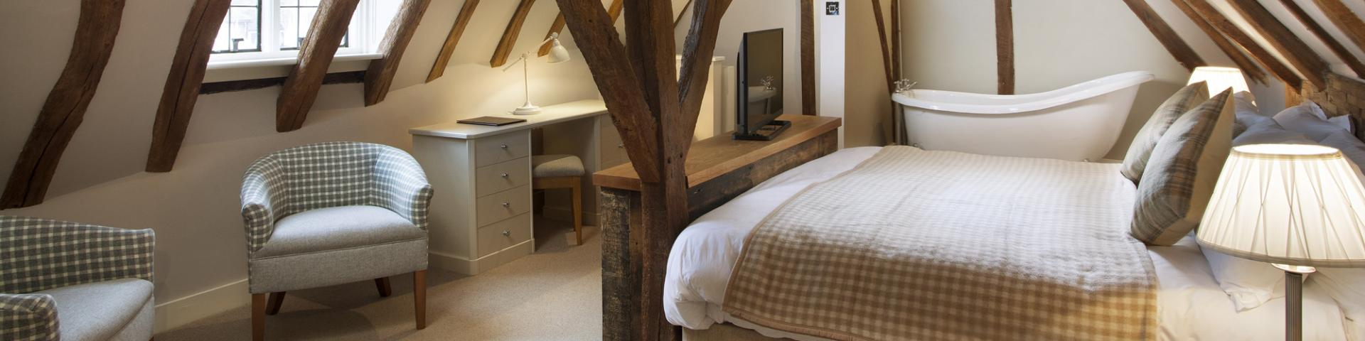 Sun Inn Faversham - Feature Room